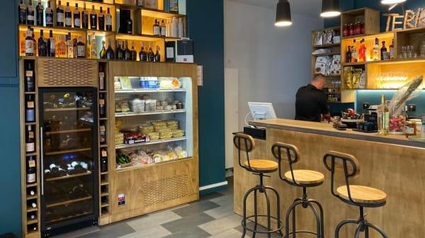 Vue de la salle - Terronia - Bar à Vin, Paris