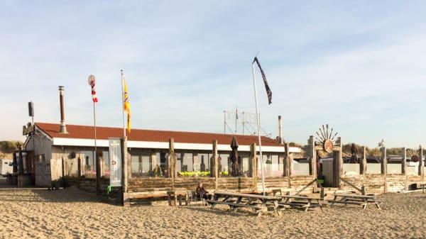 Het restaurant - Beach Inn, IJmuiden