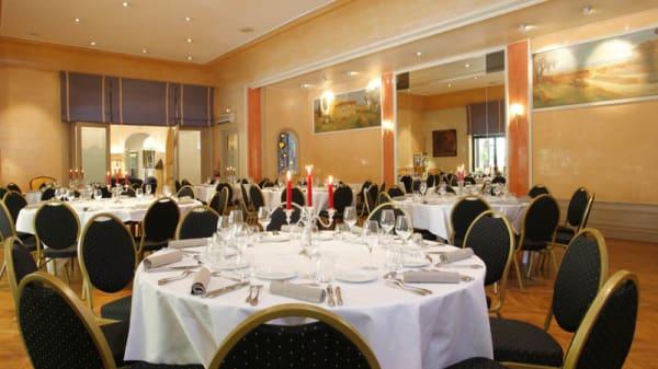 Salle du restaurant - L'Enclos de la Fontaine - Hôtel Imperator, Nîmes