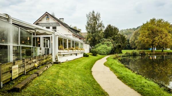Vue extérieur - Brasserie du Lac, Rixensart Genval