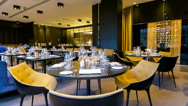 Vue salle - The Restaurant by Pierre Balthazar, Brussels