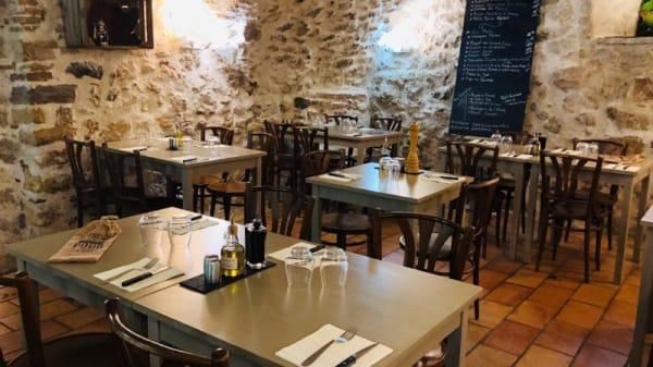 Salle du restaurant - Casa di Luciano, Antibes