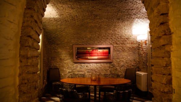Vista Sala - Café de Oriente, Madrid