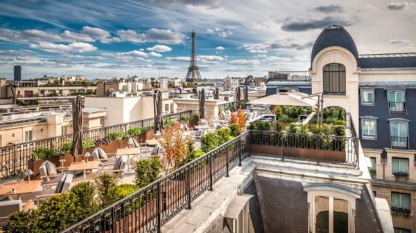 Terrasse - L'Oiseau Blanc, Paris