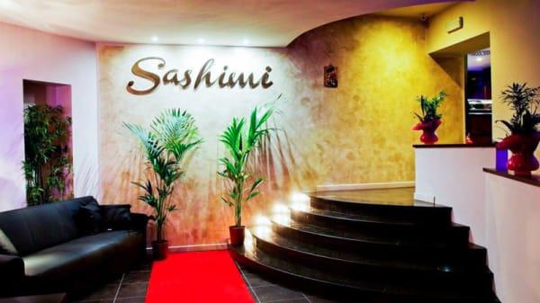 Vista sala - Sashimi, Turin