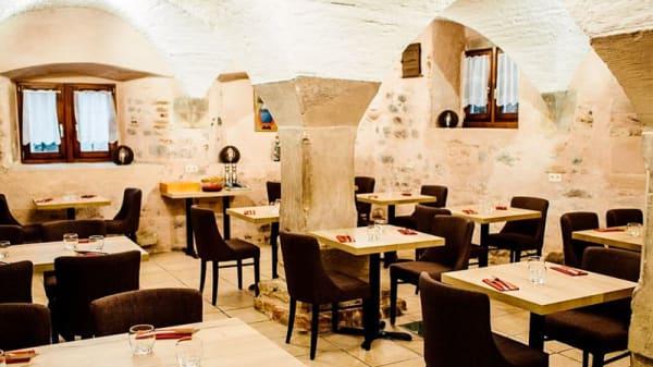 Salle du restaurant - La Stub des Gourmets, Obernai