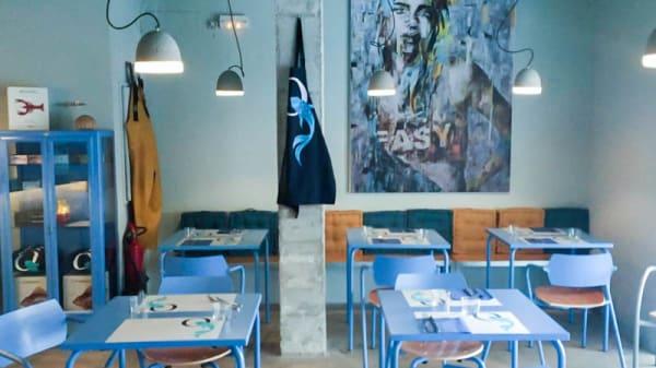Vista de la sala - La PezQueria Fish Bar, St Francesc Xavier