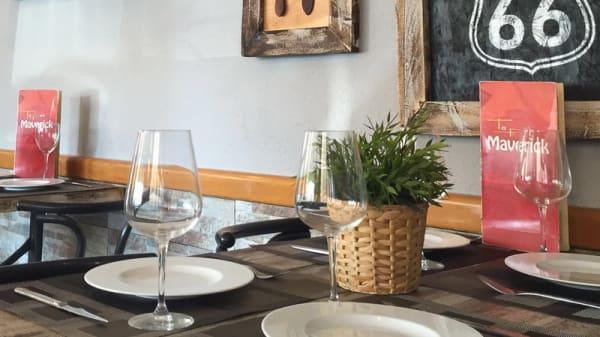 Detalle mesa - Tapas Maverick, La Llagosta