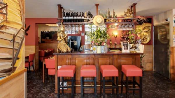Het restaurant - Khorat Top Thai, Amsterdam