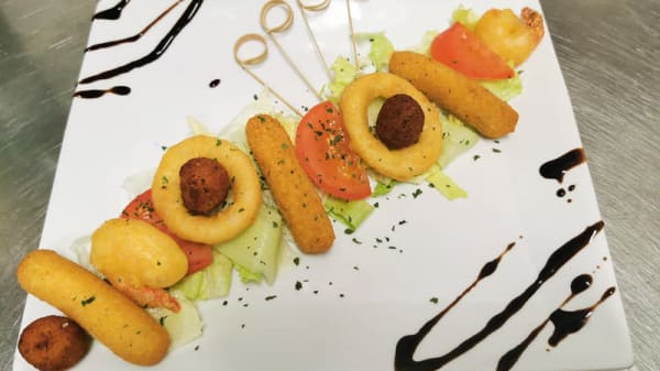 Assiette Tapas - L'Oufti, Agde