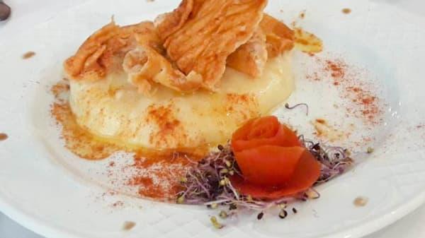 Sugerencia del chef - Pavarotti, Oropesa