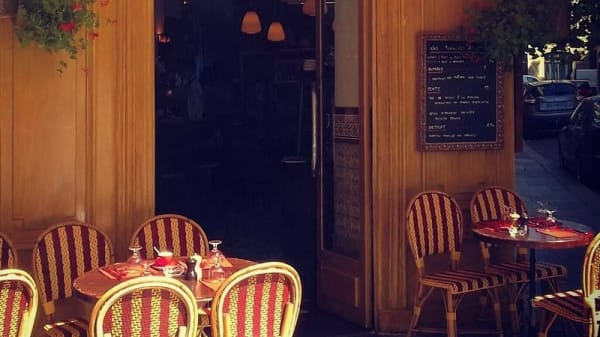terrasse - Les Caves Saint-Gilles, Paris