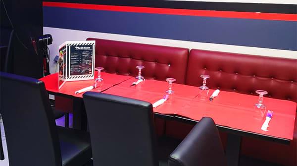 Détail de la table - Grill House Sur La Braise, Paris