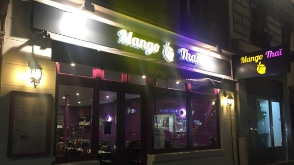 Devant - Mango Thaï, Paris