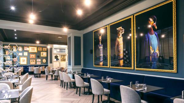 Vue de la salle - Restaurant Le Galice - Hôtel Le Galice - Aix en Provence, Aix-en-Provence