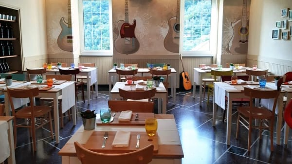 sala ristorante - Dal Doc Osteria, Avegno