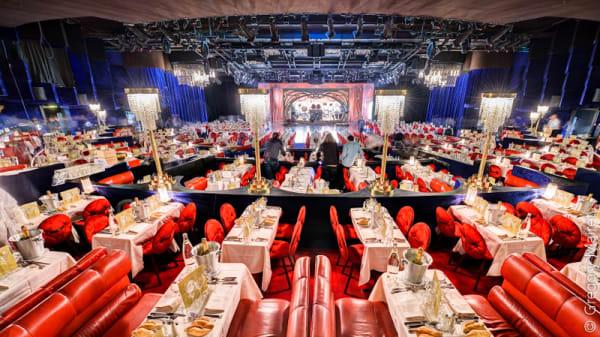 Salle du restaurant - Lido de Paris, Paris