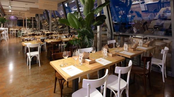 Sala ristorante - I Ristorantini - Eataly Genova, Genova