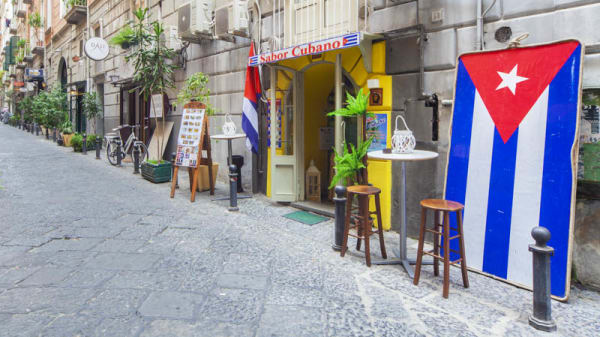 Entrata - Sabor Cubano, Napoli