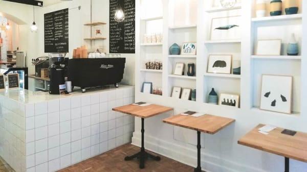 Vue de la salle - Café Myrö, Grenoble