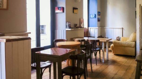 Vista sala - Rama Café, Segovia