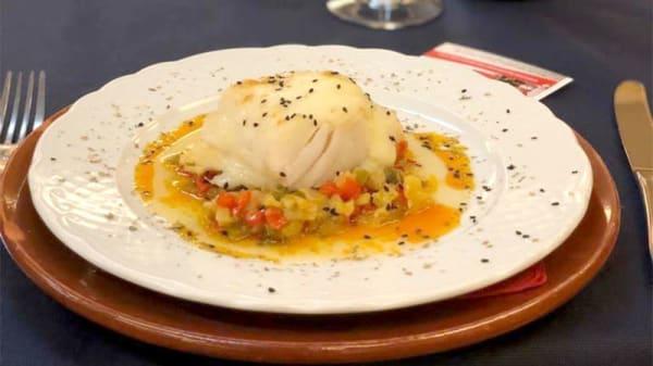 Sugerencia del chef - Hotel el Cruce, Manzanares