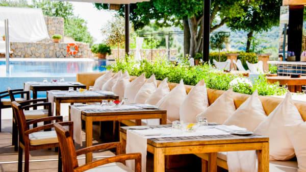 Vista terraza - U-BISTRÓ -  Son Brull Hotel & Spa, Pollença