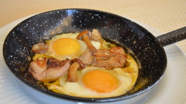 sugerencia del chef - La Alacena - Hotel Beatriz Toledo, Toledo