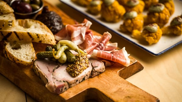 Charcuterie - Prince Alfred Bar and Rooftop, Carlton (VIC)
