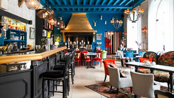 Vue de la salle - Les Biches Côté Bar, Barbizon