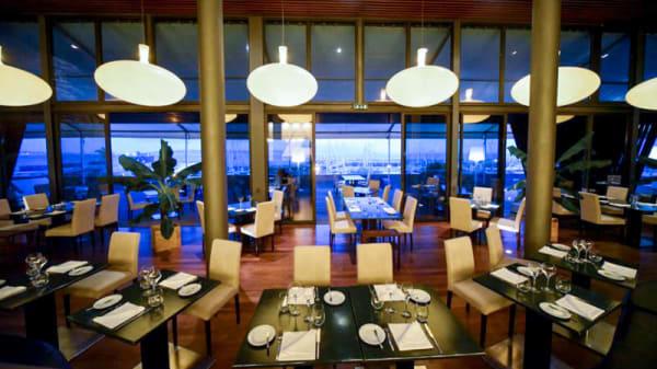 Vista do interior - Pure Restaurante Bar, Oeiras