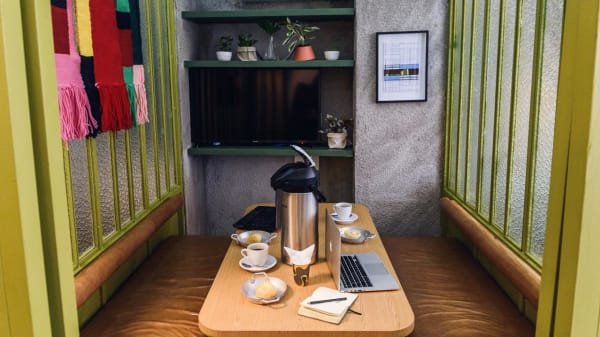 sala - Modernista Coffee Stories, São Paulo