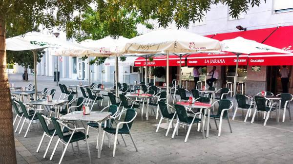 vista terraza - La Jarana, Sevilla