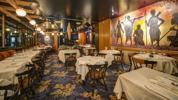 Salle du restaurant - La Gazelle, Paris