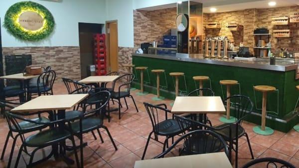 Vista de la Sala - Bar Cafetería RÚGUAY, Fuenlabrada