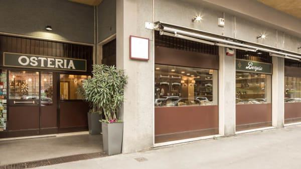 Entrata - Osteria Borgese, Milano