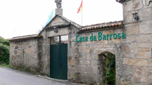 Entrada - Casa da Barrosa, Sanxenxo
