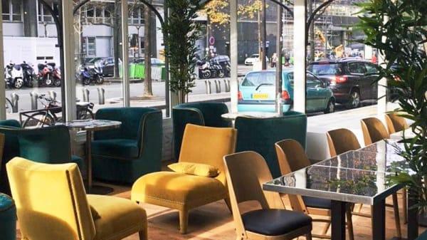 Vue de la verrière - Jazz Café Montparnasse, Paris