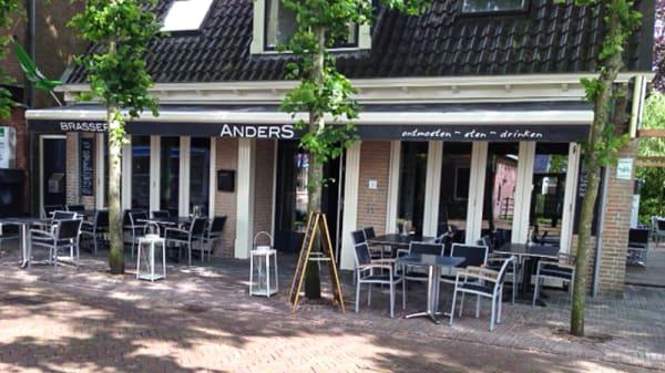 Ingang - Brasserie AnderS, Langweer