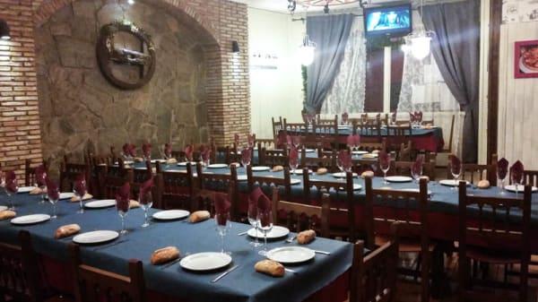 vista sala eventos - Mesón Gallego Costanova, Móstoles
