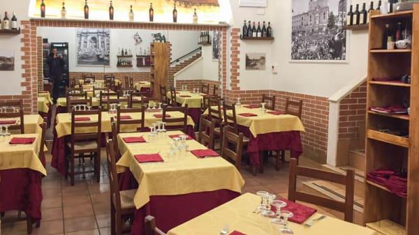 Sala del ristorante - Mercato 8, Rome