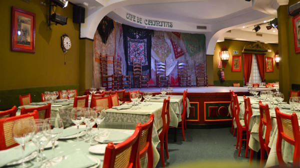 Vista sala - Café de Chinitas, Madrid