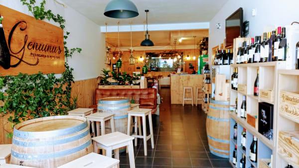 Entrada Restaurante & Wine Bar - Restaurante Genuinu´s, Aveiras de Cima