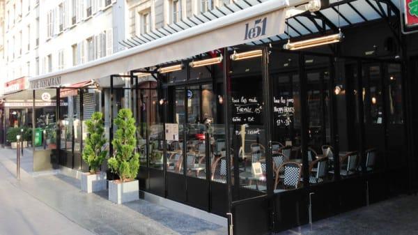 Devanture - Le 51, Paris