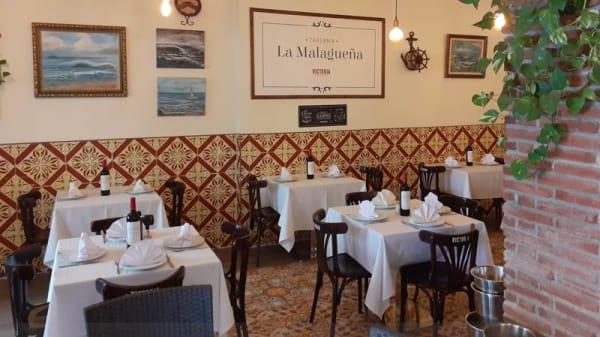 Vista de la sala - Taberna la malagueña, Málaga
