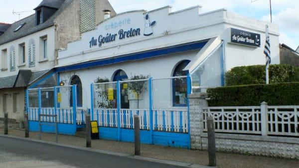 Devanture / Façade - Au goûter breton, Plougasnou