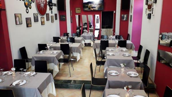 Vista sala - Maddfood Restaurant, Pozzuoli