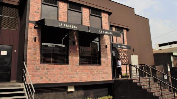 Entrada - La Cabrera (El Polo), Lima