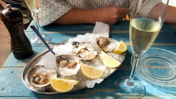 Sugerencia de plato - Mediodía, Champagne & Ostras, Marbella