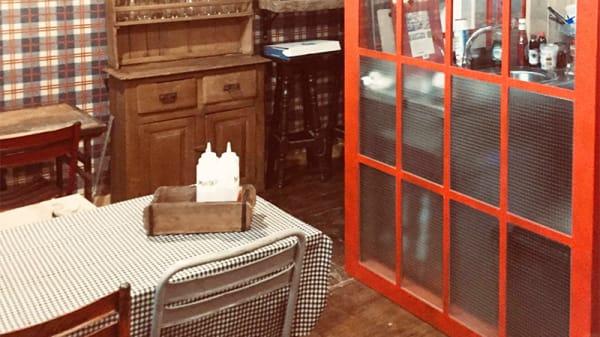 Detalle sala - La Colchonería Rustic Burguer, León